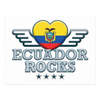 Ecuador Rocks v2 Postcard