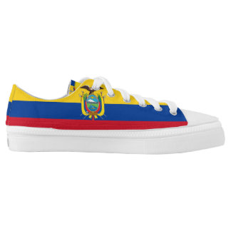 Ecuadorian Flag Printed Shoes