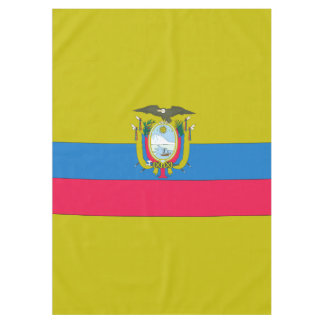 Ecuadorian flag tablecloth