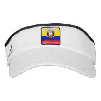 Ecuadorian glossy flag visor