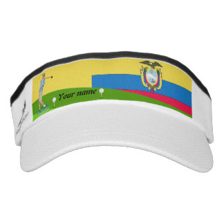 Ecuadorian golfer visor