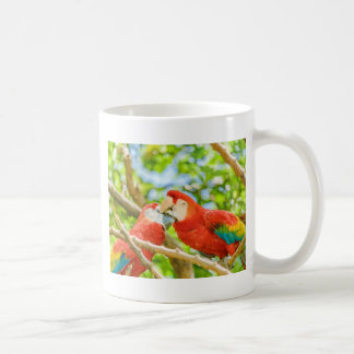 Ecuadorian Parrots at Zoo, Guayaquil, Ecuador Coffee Mug