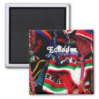 Ecuadorian Square Magnet