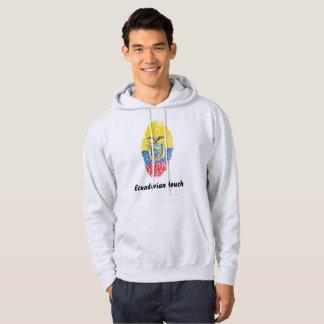 Ecuadorian touch fingerprint flag hoodie