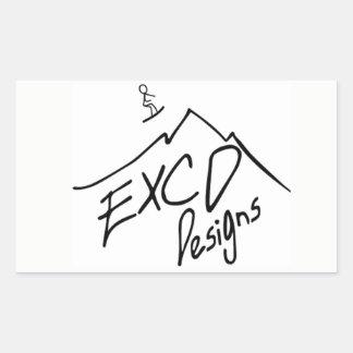 ECXD Designs Sticker