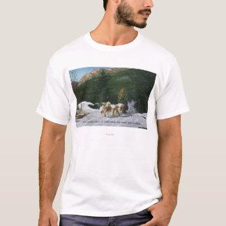 Ed Clark's Eskimo Dog Ranch, Dogsledding T-Shirt