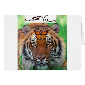 Ed Vu Tiger Monarch butterfly Greeting Card