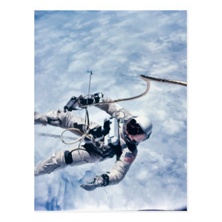 Ed White Space Walk Art Print Postcard