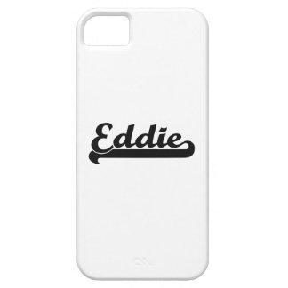 Eddie Classic Retro Name Design iPhone 5 Cases