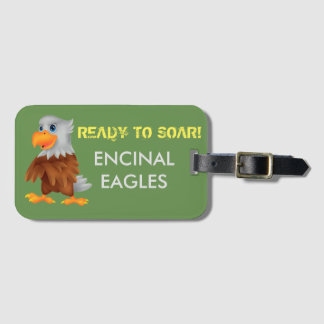 Eddie Eagle Luggage Tag
