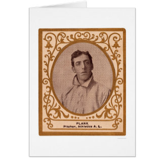 Eddie Plank Baseball Card 1909