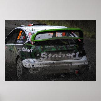 Eddie Stobart WRC Poster