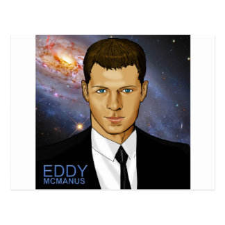 Eddy McManus - Star Person Postcard