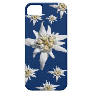 Edelweiss Case on dark blue background