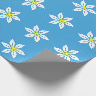 Edelweiss Flowers Wrapping Paper