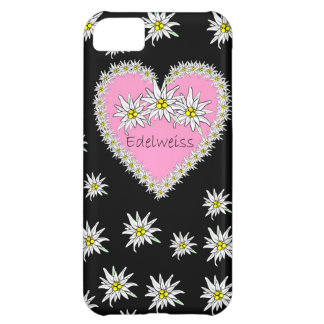 Edelweiss pink Octoberfest Heart iPhone 5 Case