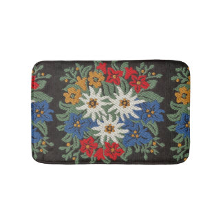 Edelweiss Swiss Alpine Flower Bath Mats