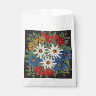 Edelweiss Swiss Alpine Flower Favour Bags