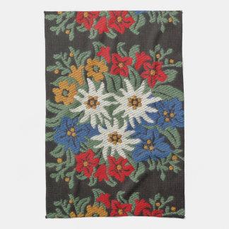 Edelweiss Swiss Alpine Flower Kitchen Towel