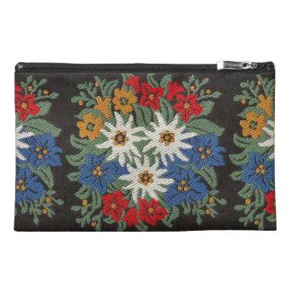 Edelweiss Swiss Alpine Flower Travel Accessories Bag