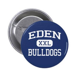Eden - Bulldogs - Eden High School - Eden Texas Button