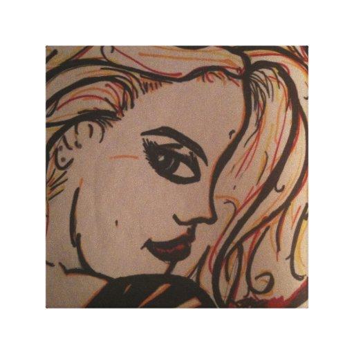 Eden Stretched Canvas Prints