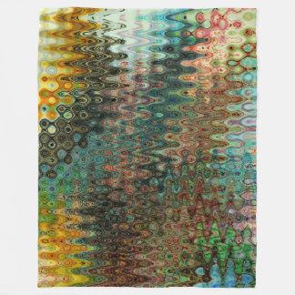 Eden Fleece Blanket by Artist C.L. Brown