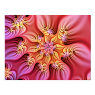 Eden flower postcard