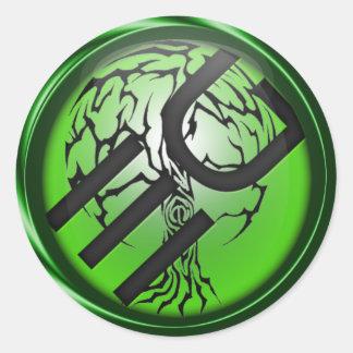 Eden Grounds Logo Sticker