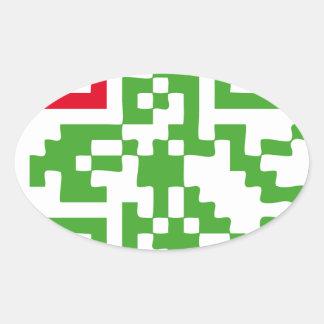 Eden Oval Sticker