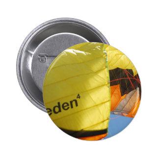 Eden Parachute Pinback Button