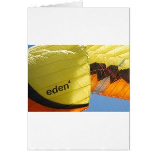 Eden Parachute Greeting Card