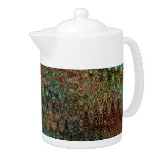 Eden Porcelain Tea Pot by Artist C.L. Brown