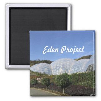 Eden Project Square Magnet