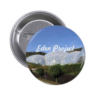 Eden Project Pinback Button