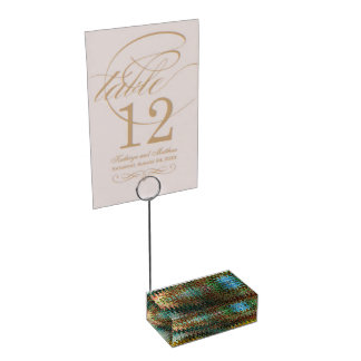 Eden Table Card Holder by Artist C.L. Brown