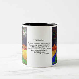 Eden Tree w/ Poem Two-Tone Mug