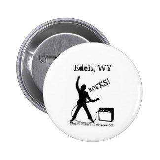 Eden WY Pinback Buttons