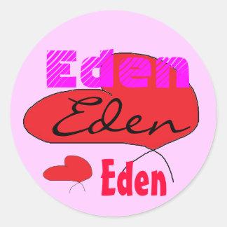 Eden's Stickers