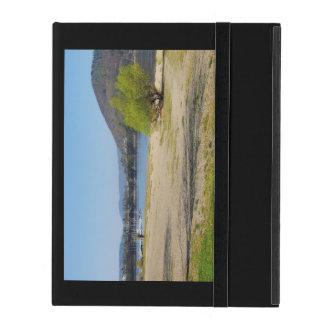 Edersee at the deer brook iPad case