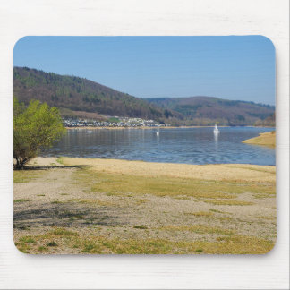 Edersee at the deer brook mouse pad