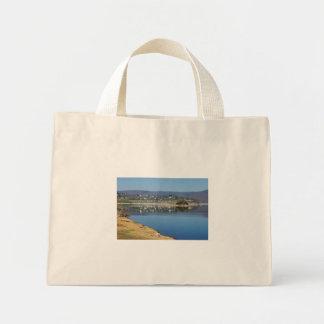 Edersee bay when bringing living mini tote bag