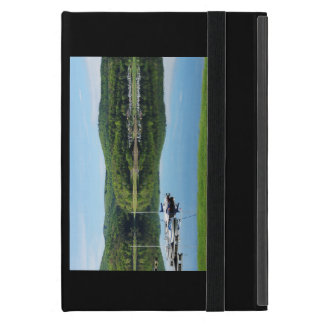 Edersee bay with separate iPad mini cover