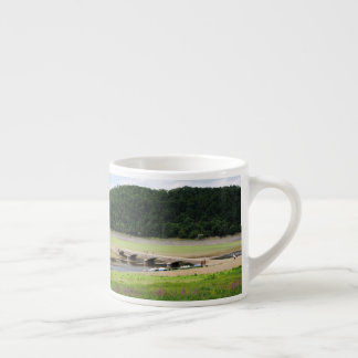 Edersee bridge of Asel Espresso Cup