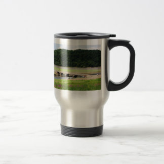 Edersee bridge of Asel Travel Mug