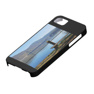 Edersee concrete dam from the water side iPhone 5 cases