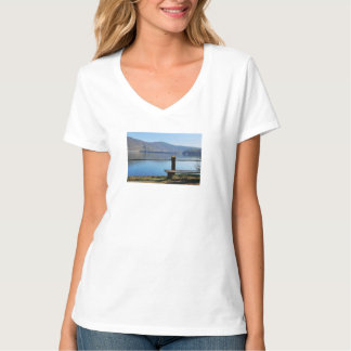 Edersee concrete dam from the water side T-Shirt