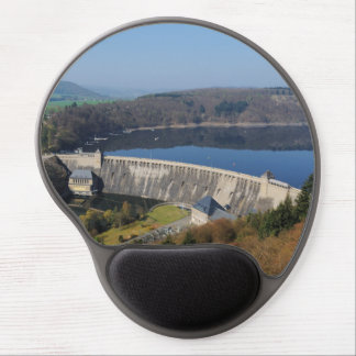Edersee concrete dam in the spring gel mouse pad