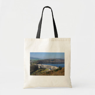 Edersee concrete dam in the spring tote bag