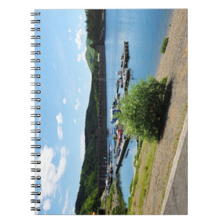 Edersee concrete dam notebook